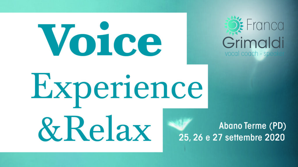 Voice Experience & Relax